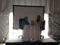 Станислав и Кристина Гроф отвечают на вопросы участников семинара