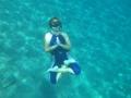 Спонтанные асаны под водой