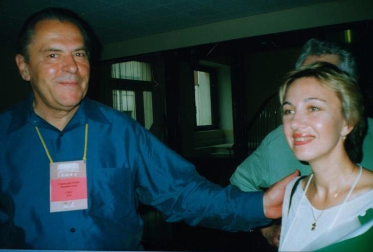 Станислав Гроф и Светлана Дороганич (2001 год)