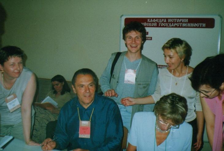 Станислав и Кристина Гроф (2001 год)