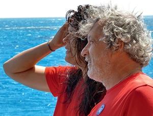 Дельфинолог Николь Гратовски и антрополог Александр Гратовски